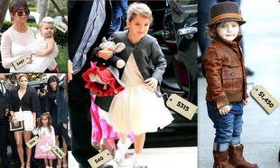Πόσα ξοδεύουν οι διάσημοι για τα ρούχα των παιδιών τους;