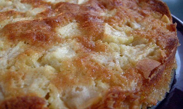 Συνταγή για μηλόπιτα σαν κέικ!
