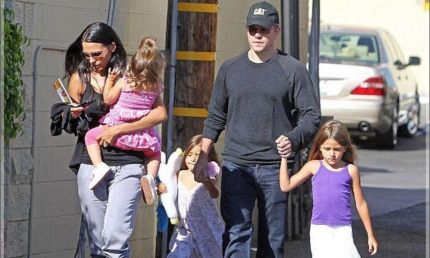 Ο Ματ Ντέιμον μιλάει για τον ρόλο του ως πατέρας για τις 4 κόρες του!