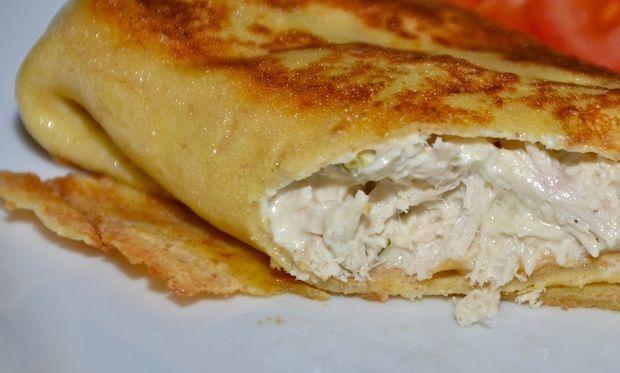 Συνταγή για τέλειες μίνι κρέπες με τυρί κρέμα και κοτόπουλο!