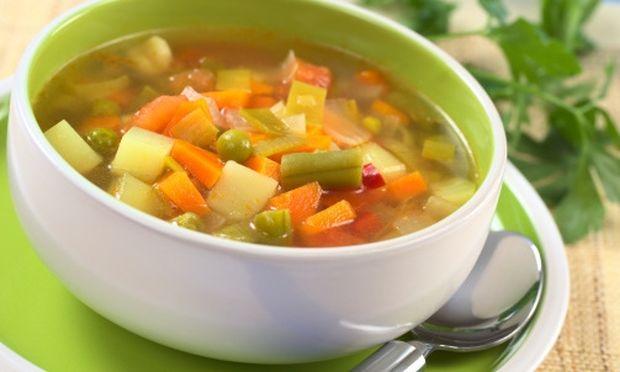 Συνταγή για την πιο νόστιμη σούπα λαχανικών για τα παιδιά!