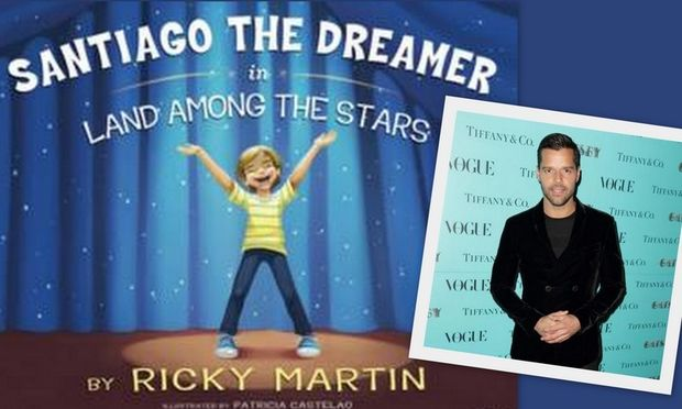 Ο Ρίκι Μάρτιν έγραψε παιδικό βιβλίο και μας το παρουσιάζει!