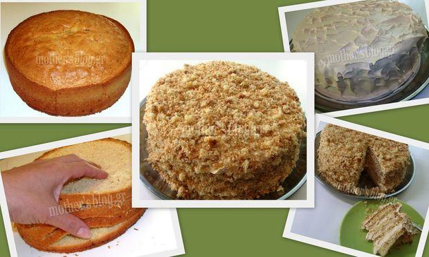 My cakes-my hobby: Συνταγή για εύκολη τούρτα της μιας ώρας!