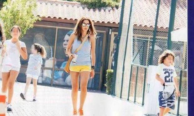 Δέσποινα Βανδή: Για τένις με την Μελίνα και τον Γιώργο