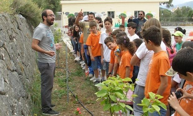 Ένα αλλιώτικο σχολείο στην Κρήτη!