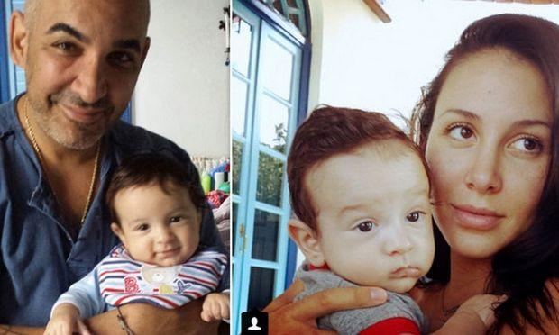 Τρυφερές στιγμές του Άλκη Δαυίδ με τον γιο του! (φωτογραφίες)