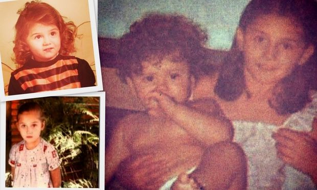 Το παιδικό φωτογραφικό άλμπουμ της…