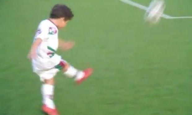 Ο νέος Ροναλντίνιο είναι μόλις 5 χρονών! (βίντεο)