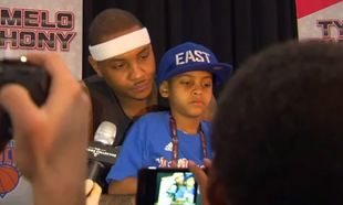 Οι μπαμπάδες του NBA δεν αποχωρίζονται τα παιδιά τους ούτε στις συνεντεύξεις Τύπου! (βίντεο)
