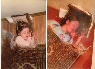 Τα τρία αδέρφια που ξαναφωτογραφίζονται όπως όταν ήταν μωρά (εικόνες)