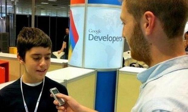 Ο 12χρονος Θεσσαλονικιός που τον ζητάει η Google για συνεργασία!