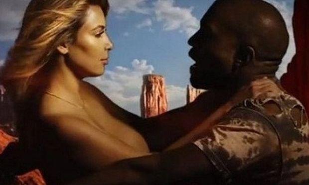 Κιμ Καρντάσιαν εμφανίζεται …γυμνή στο βίντεο κλιπ του Κάνι Γουέστ! (βίντεο)