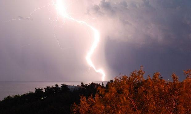 Κεραυνός χτύπησε μαθητή στην Αμαλιάδα