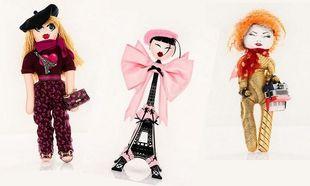 Υψηλή ραπτική σε κούκλες από τους μεγαλύτερους οίκους μόδας με σκοπό να βοηθήσουν την Unicef