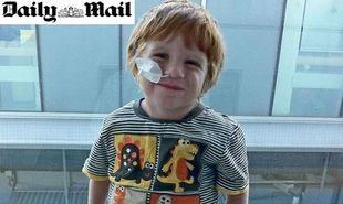 Ο μικρός Γουίλιαμ θα φάει ξανά σοκολάτα μετά το δώρο ζωής του πατέρα του!