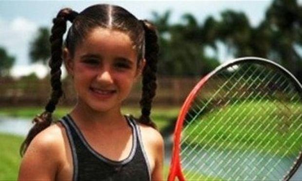 Το μεγάλο ταλέντο του τένις είναι μόλις εννιά ετών (βίντεο)