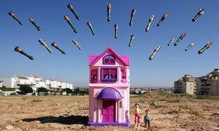 Ο πόλεμος μέσα από τα μάτια των μικρών παιδιών (φωτογραφίες)