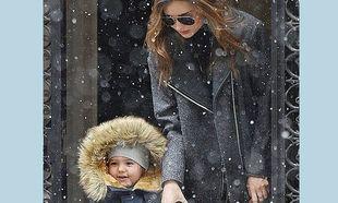 Μιράντα Κερ: Βόλτα στα χιόνια με τον γιο της! (φωτογραφίες)