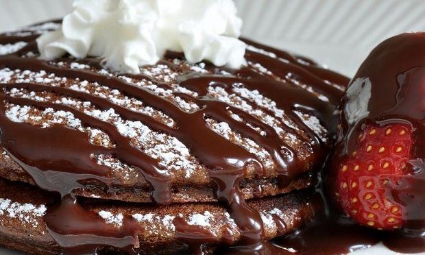 Συνταγή για εύκολες τηγανίτες σοκολάτας