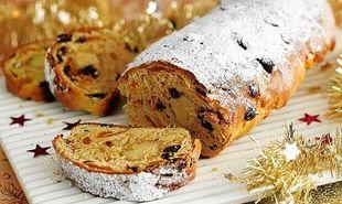 Συνταγή για Stollen, παραδοσιακό γερμανικό Χριστουγεννιάτικο γλυκό