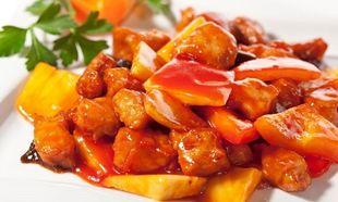 Συνταγή για εύκολο γλυκόξινο χοιρινό