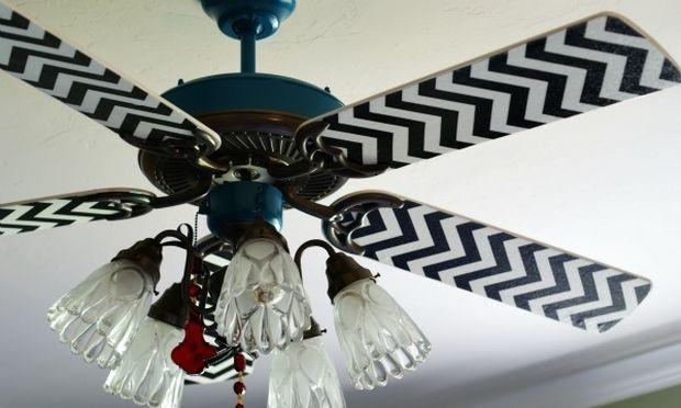Δώστε χρώμα στους παλιούς βαρετούς ανεμιστήρες οροφής (φωτογραφίες)