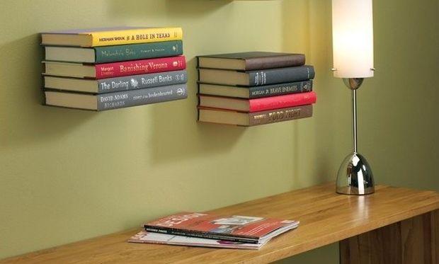 Φτιάξτε οικονομικά ράφια με τα βιβλία των παιδιών σας (φωτογραφίες)