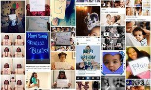 Η Μπλου Αϊβι είχε γενέθλια και οι διάσημοι γονείς της δέχθηκαν χιλιάδες ευχές! (εικόνες)