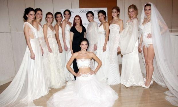 Η L'Oréal Paris επίσημος χορηγός του Bridal Fashion Show της Βάσιας Τζοτζοπούλου