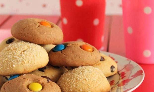 Συνταγή για λαχταριστά μπισκότα με μόνο τρία υλικά
