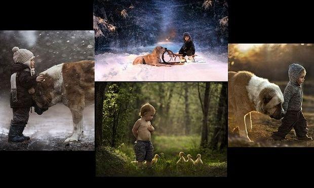 Μεγαλώνοντας με τα ζώα-Η δυνατή σχέση αγάπης μέσα από φωτογραφίες