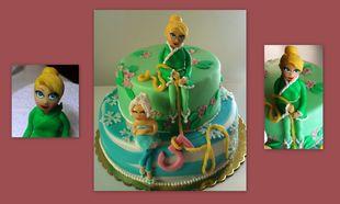 My cakes - My hobby! Φτιάχνουμε τη δική μας ζαχαρένια Τίνκερμπελ!