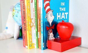 Φτιάξτε τέλειους βιβλιοστάτες και κρατήστε τα βιβλία των παιδιών σε σειρά