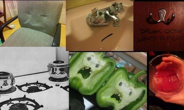 Όταν τα αντικείμενα στο σπίτι μας δείχνουν το αληθινό τους πρόσωπο! (εικόνες)