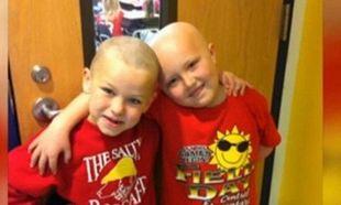 Δύναμη ψυχής! Πεντάχρονος ξύρισε το κεφάλι του για να συμπαρασταθεί στο φιλαράκι του! (εικόνες)