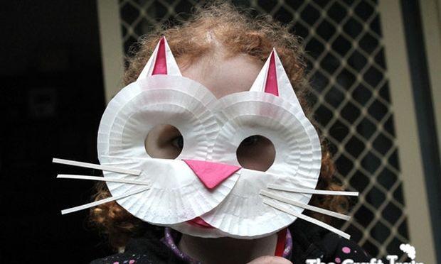 Δημιουργήστε όμορφες μάσκες γάτας