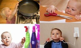 Παιδικά ατυχήματα μέσα στο σπίτι-Τι πρέπει να προσέχουμε