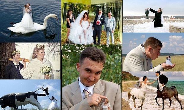 Οταν ένας γάμος αποθεώνει το κιτς και αποτελειώνει εμάς! (εικόνες)