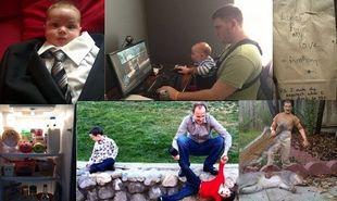 Nα γιατί δεν πρέπει να αφήνουμε τους μπαμπάδες μόνους στο σπίτι! (εικόνες)
