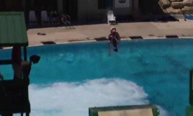 Ενας διαφορετικός τρόπος προπόνησης για παιδιά! (βίντεο)