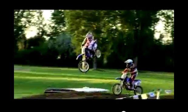 Ο απίστευτος 14χρονος μοτοκροσάς (βίντεο)