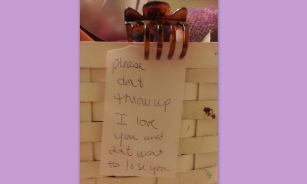 «Σε παρακαλώ, μη κάνεις εμετό…», το συγκλονιστικό σημείωμα μίας μητέρας στη βουλιμική κόρη της!