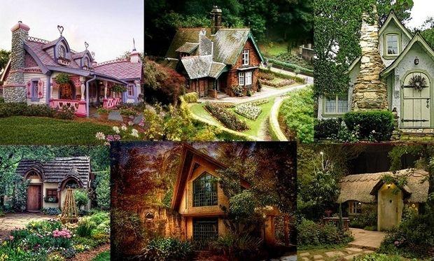 Κι όμως υπάρχουν! Σπίτια βγαλμένα από παραμύθι! (εικόνες)