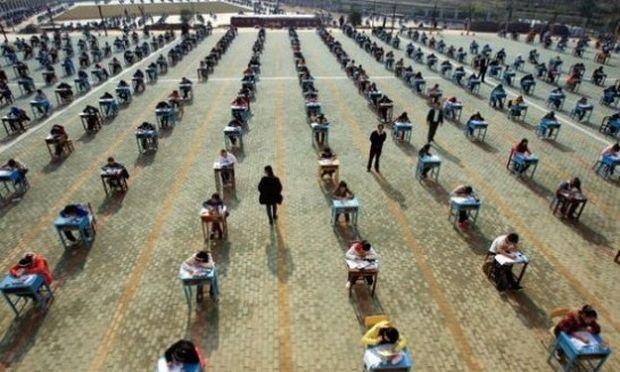 Σε αυτές τις εξετάσεις δεν θα αντιγράψει κανείς! (εικόνες)
