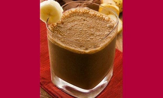 Συνταγή για σοκολατένιο χυμό μπανάνας!
