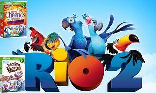 Τα παιδικά δημητριακά της Nestlé χαρίζουν δώρα από τη νέα ταινία «ΡΙΟ 2»!