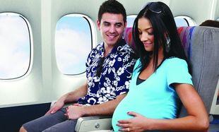 Είμαι έγκυος και πρέπει να ταξιδέψω με αεροπλάνο. Είναι ασφαλές;
