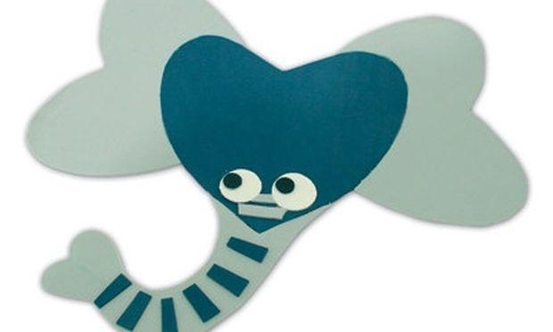 Φτιάχνουμε παιδικό mouse pad σε σχήμα ελέφαντα