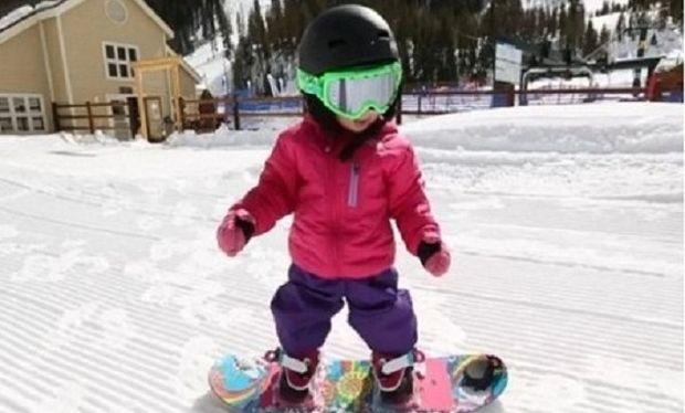 Δεν περπατάει καλά, είναι ταλέντο όμως στο snowboard! (βίντεο)
