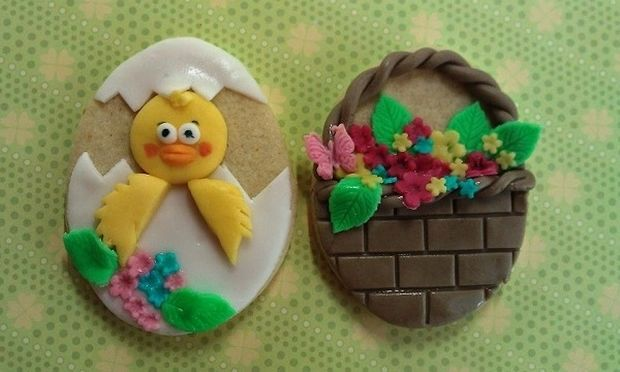 My cakes - My hobby: Φτιάχνουμε πασχαλινά μπισκοτάκια